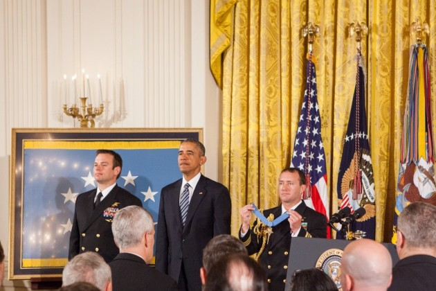 President Obama Awards Medal of Honor to Navy SEAL