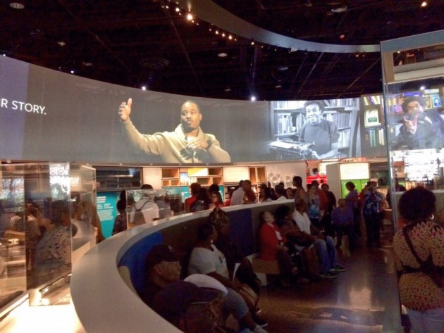 A First look into the National Museum of African American History and Culture