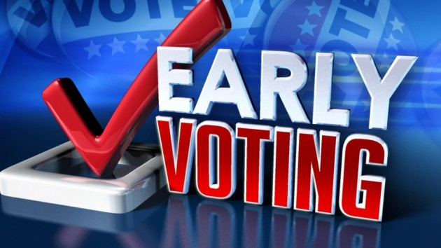 Record Numbers Voting Early, Dems Leading Charge
