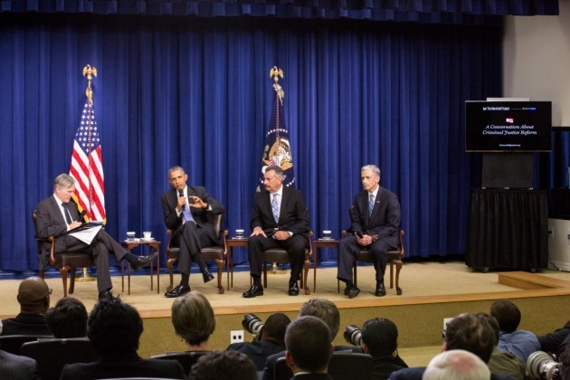 Remarks by President Barak Obama  in Arm Chair Discussion on Criminal Justice with Enforcement Leaders