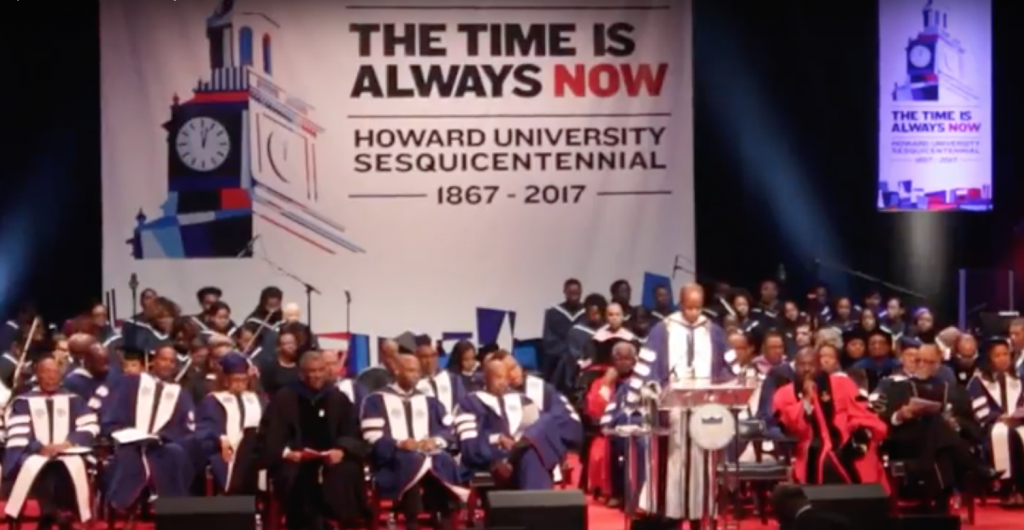Howard University 150th Charter Day Convocation