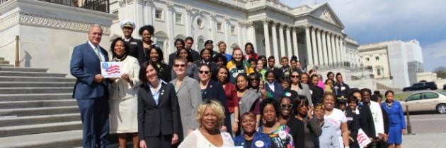 Women Veterans Take Capitol Hill