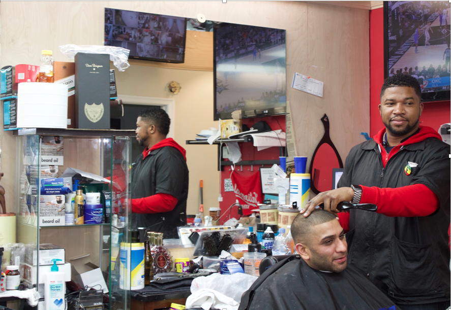 Barbers don't just transform Looks, but also Lives