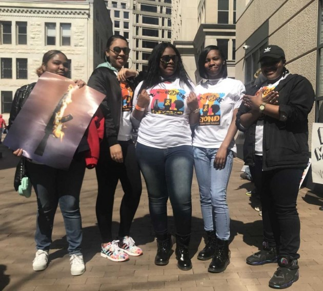 Black Marchers See Gun Violence Differently
