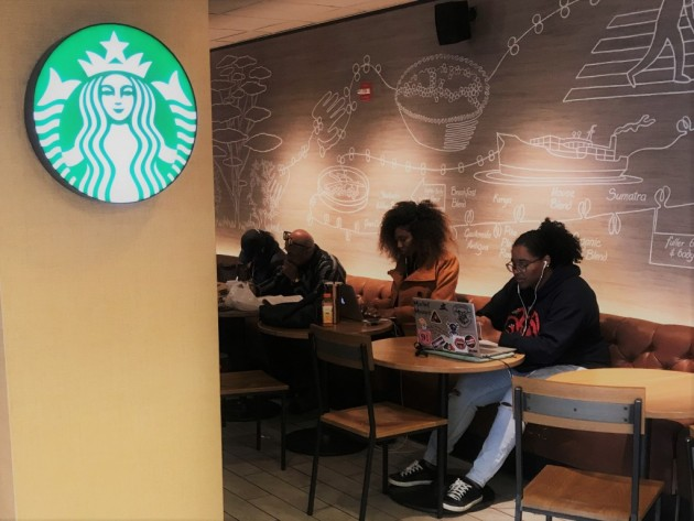At One Busy Starbucks, No Sign of Business Slowing Down After Arrests
