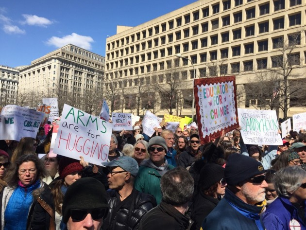 March for Our Lives Unifies Those Marching in Support of Many Issues