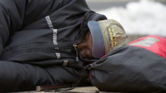 For Homeless, Winter Can be Life or Death