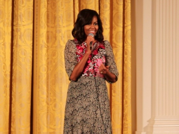 First Lady Says Month Not Enough for Black History