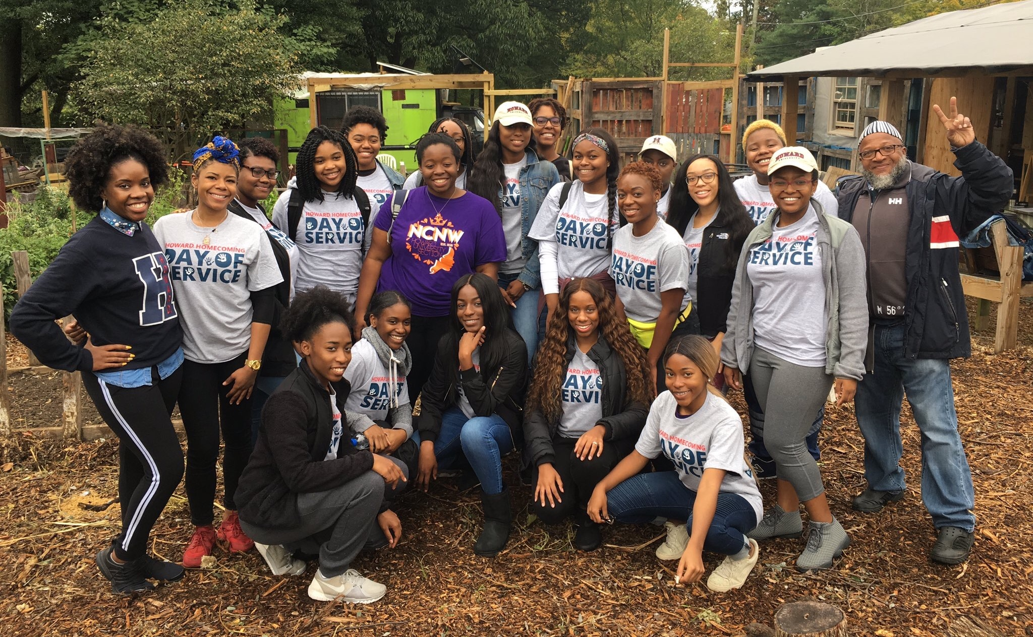 Howard University Homecoming Day of Service: Students Give Back To The Community
