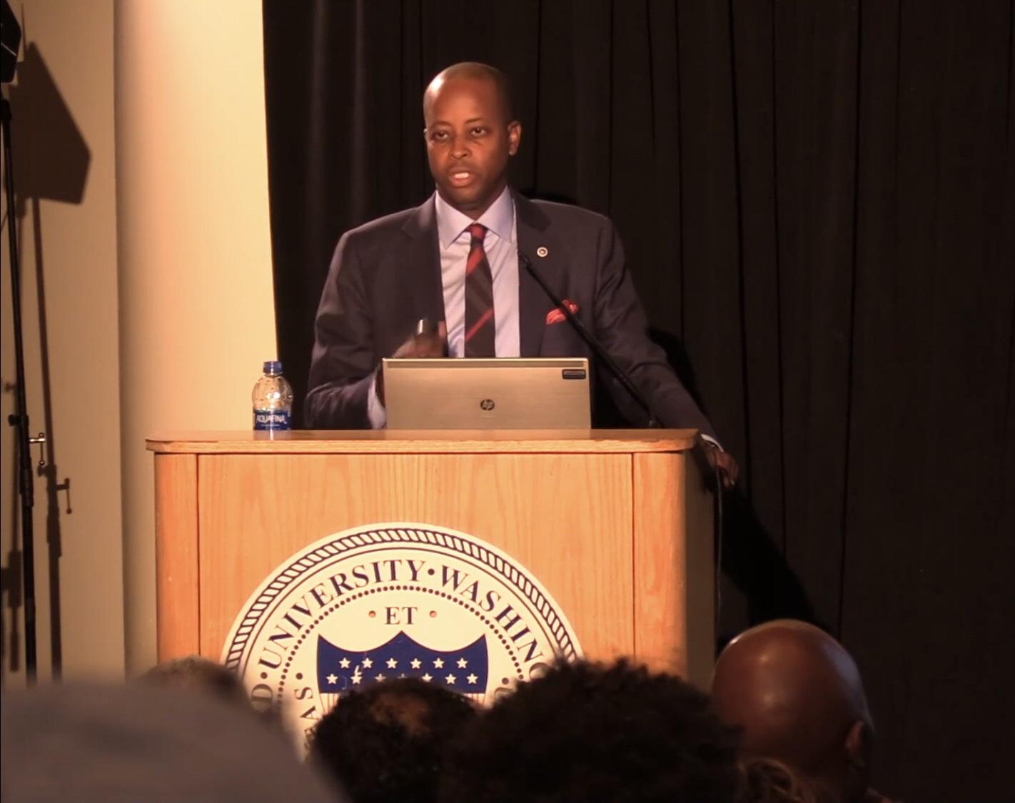 Howard University President Wayne Frederick Speaks on the State of the University