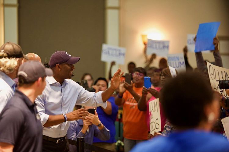 Gillum Wins Big With Locals During Final Day Of His Campaign