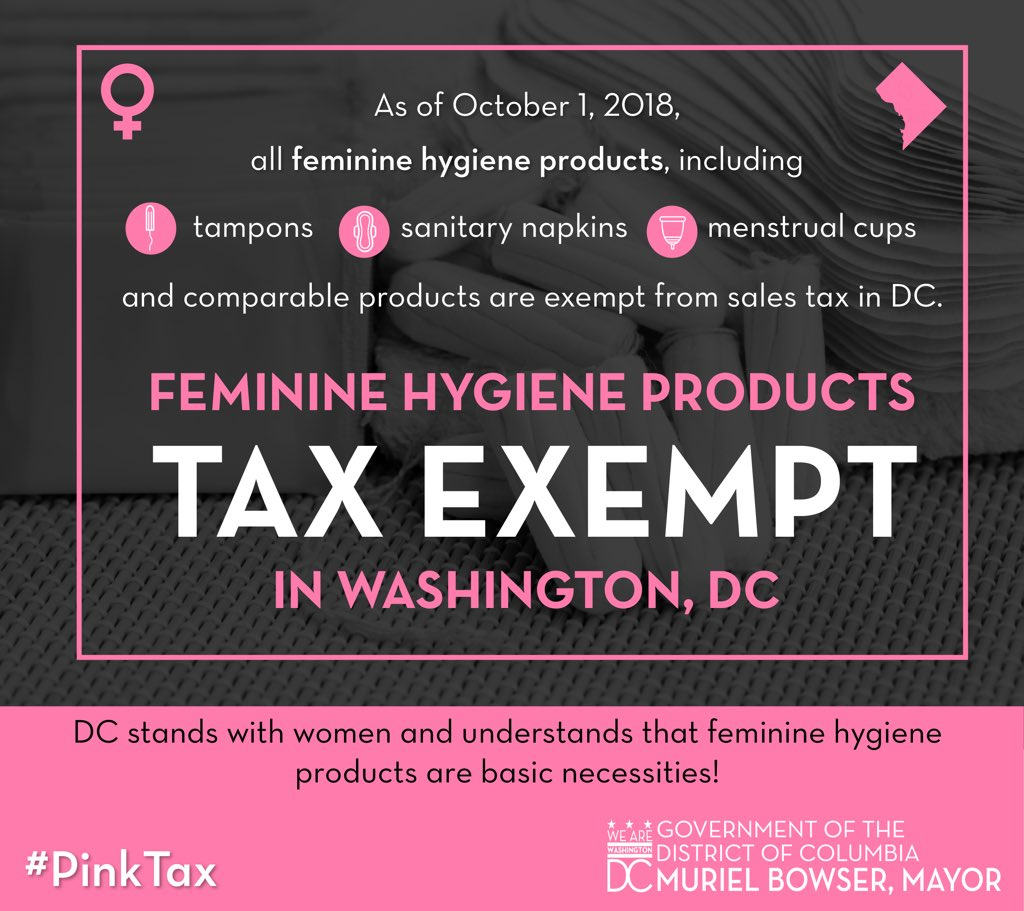 "DC Goes ""Pink"" for the #PinkTax"