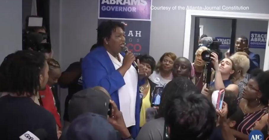 Spelman Students Support Stacey Abrams