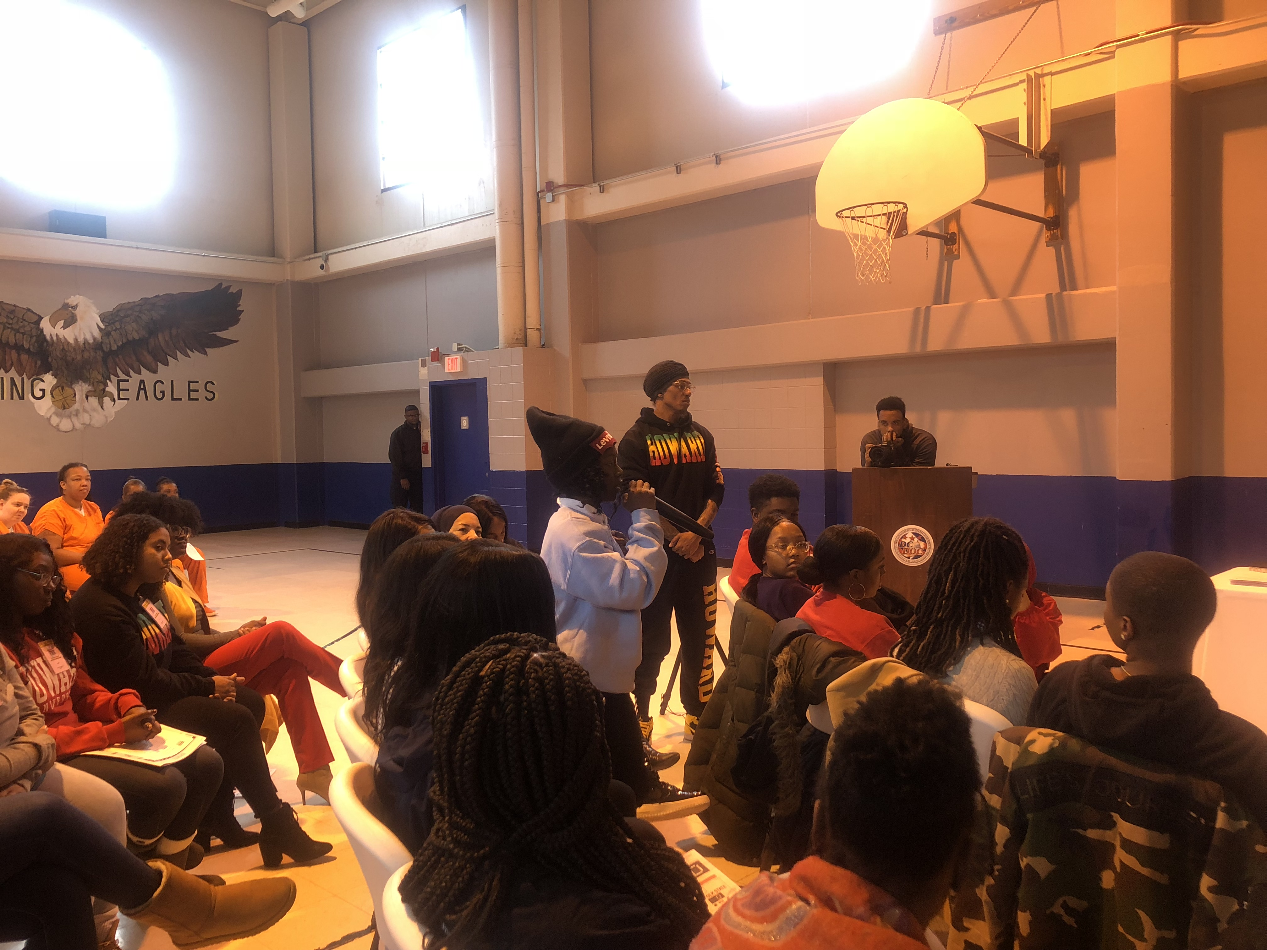"Howard University Class Takes ""Inside Out"" Approach at DC Jail"