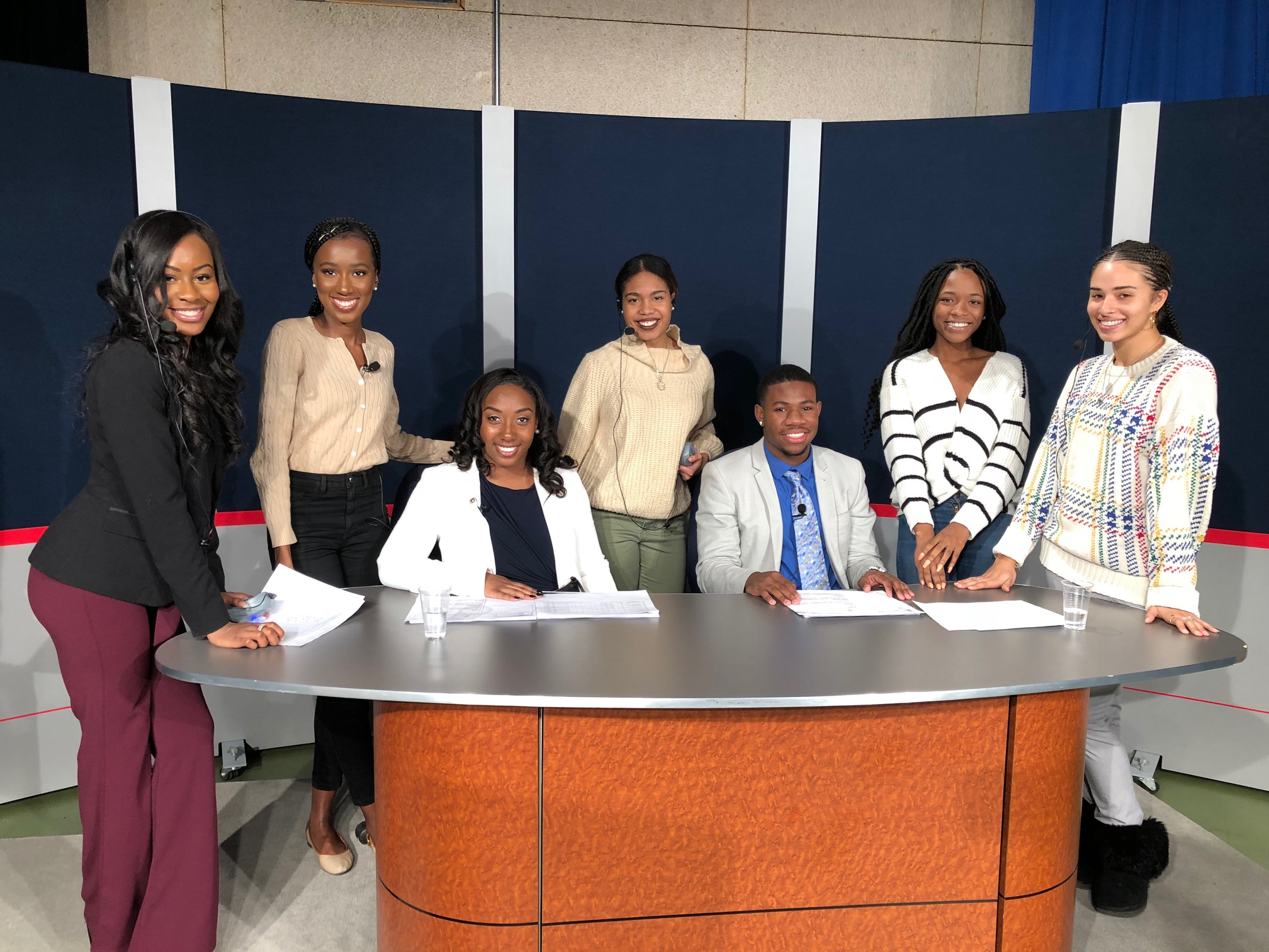 Capstone Broadcast Journalism Class, NewsVision, Produces Final Newscast