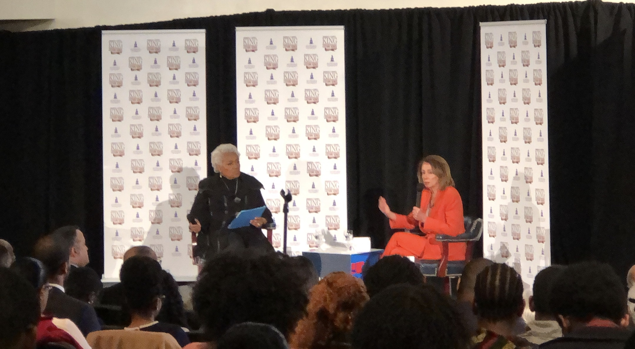 House Speaker Nancy Pelosi Visits Howard; Discusses Democratic Agenda