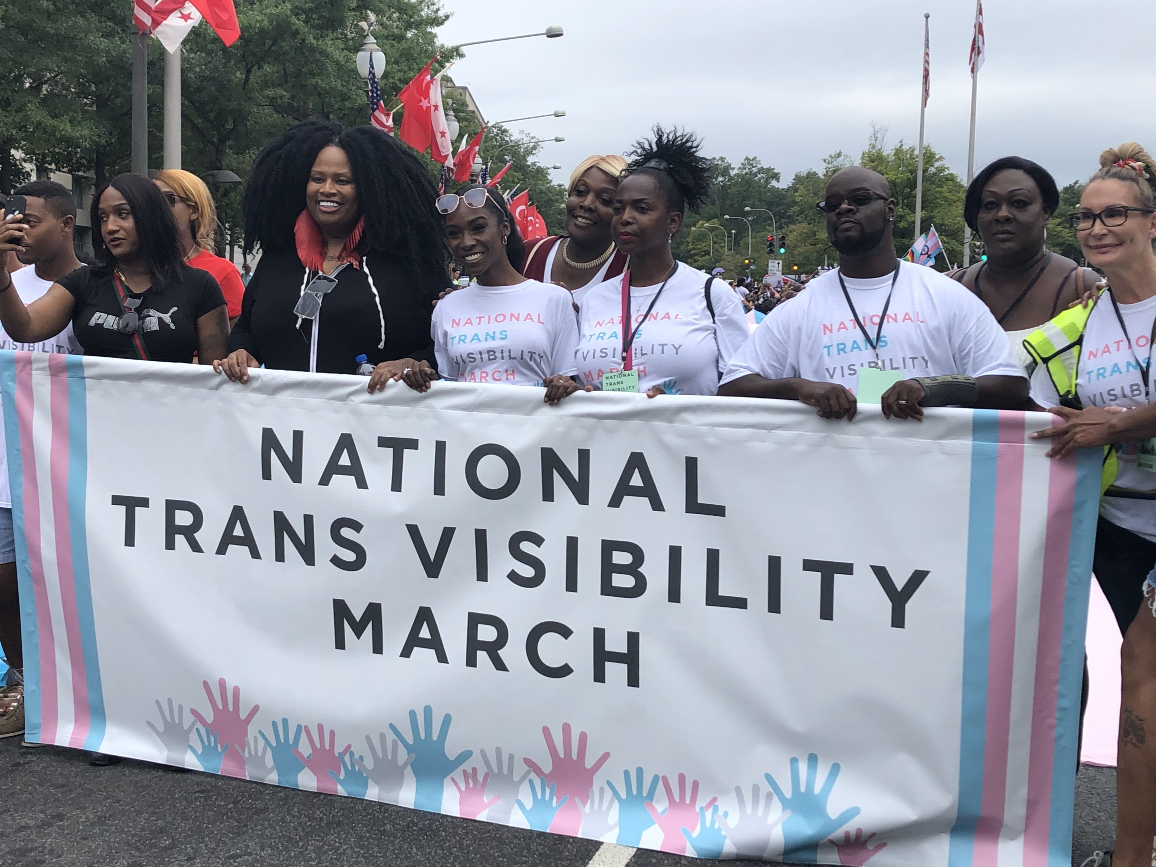 """""""We'll be back!"""": The Trans Visibility March on DC"""