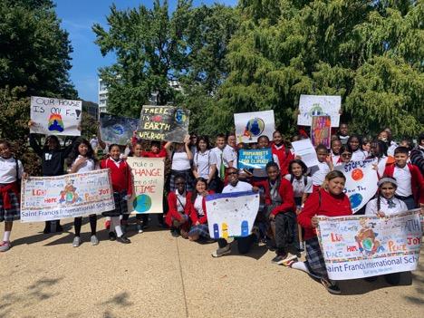 Washington, D.C. Students Lead Massive March on Climate Change