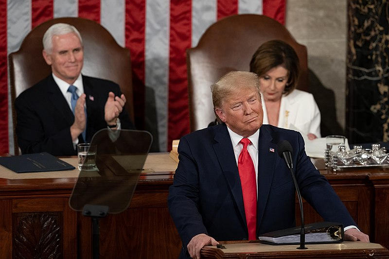 Trump Says U.S. Is 'Thriving' in State of the Union Address