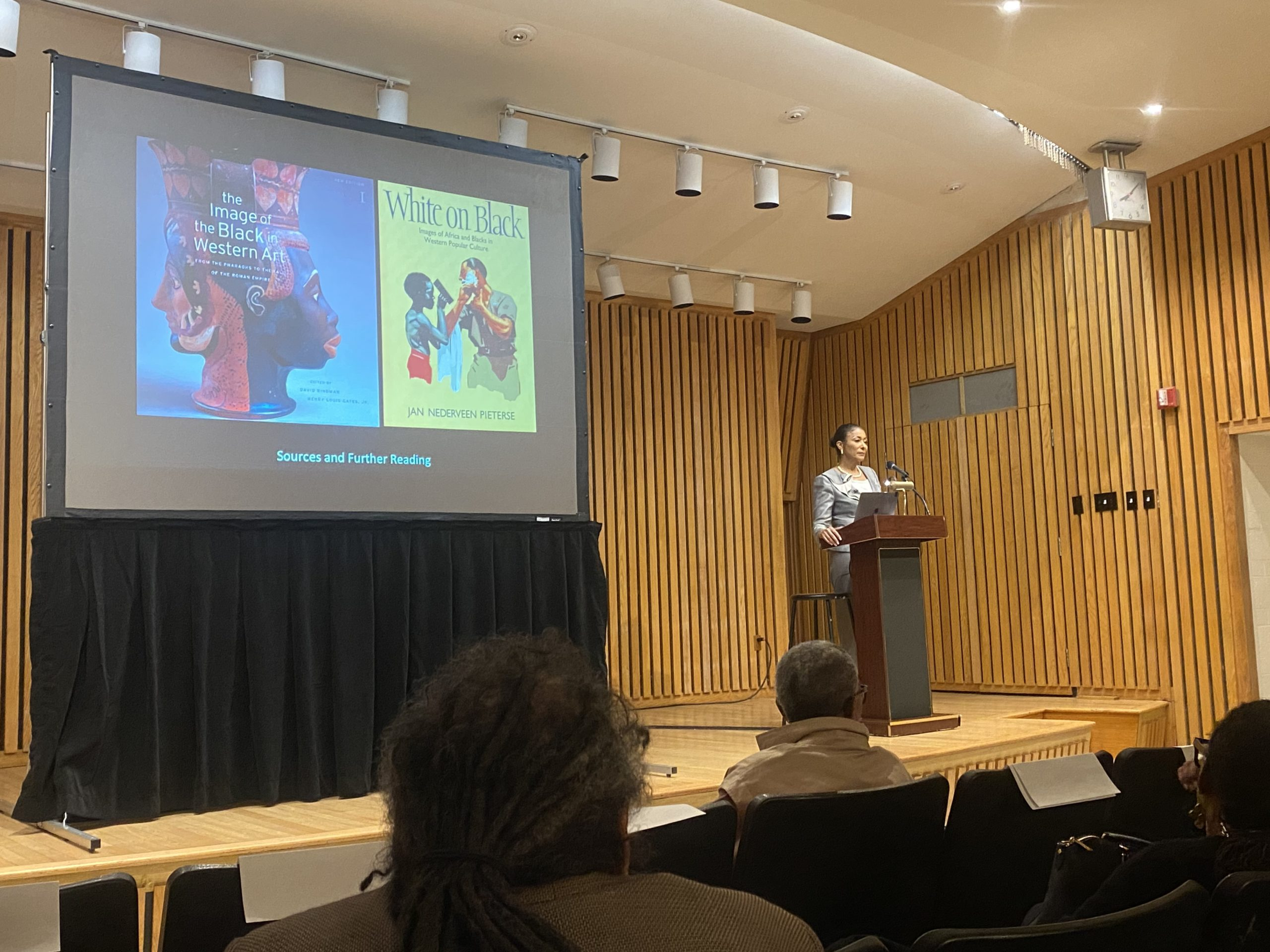Lecture Series Highlights Depiction of Africans in Art Throughout History