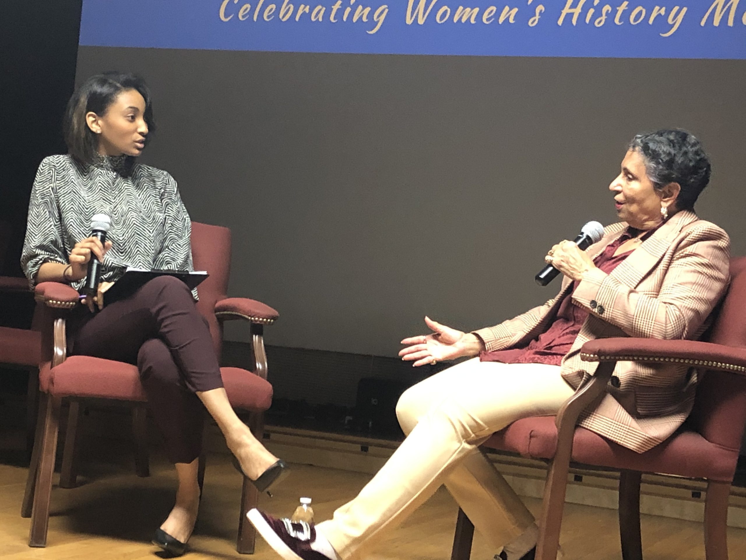 Create Your Own Seat At the Table: Cathy Hughes Launches Women's History Month at Howard University