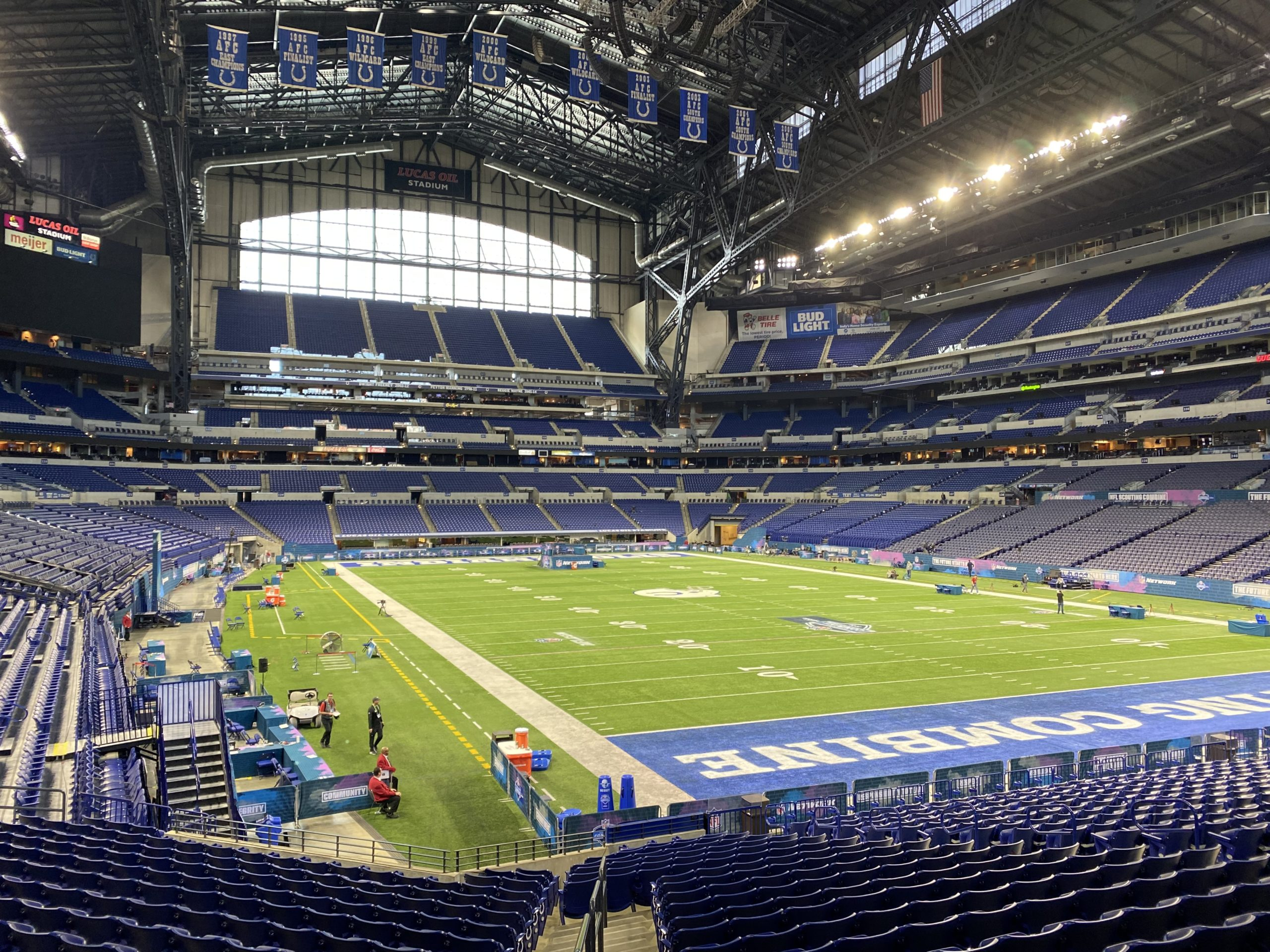 Behind the scenes at the NFL Combine