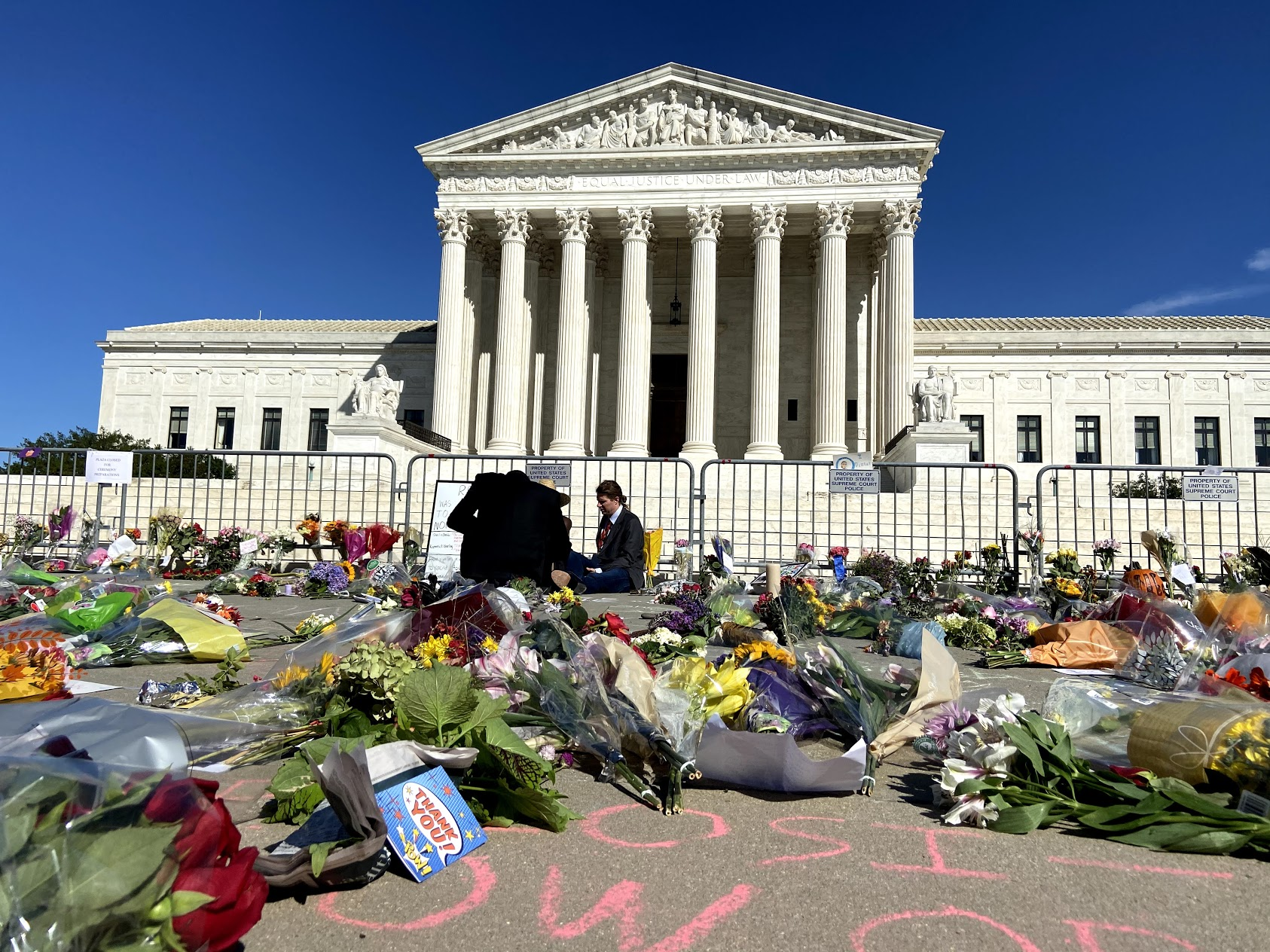 A Small Giant for Justice: Americans Gather To Honor Justice Ruth Bader Ginsburg
