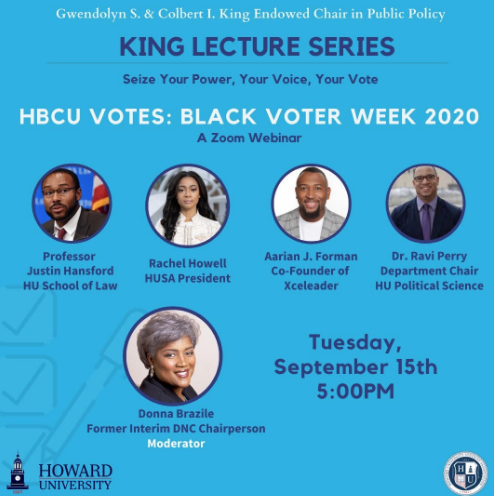 King Lecture Series Emphasizes Value Of HBCU Voting