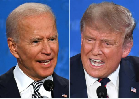 Trump And Biden Clash In Chaotic Debate