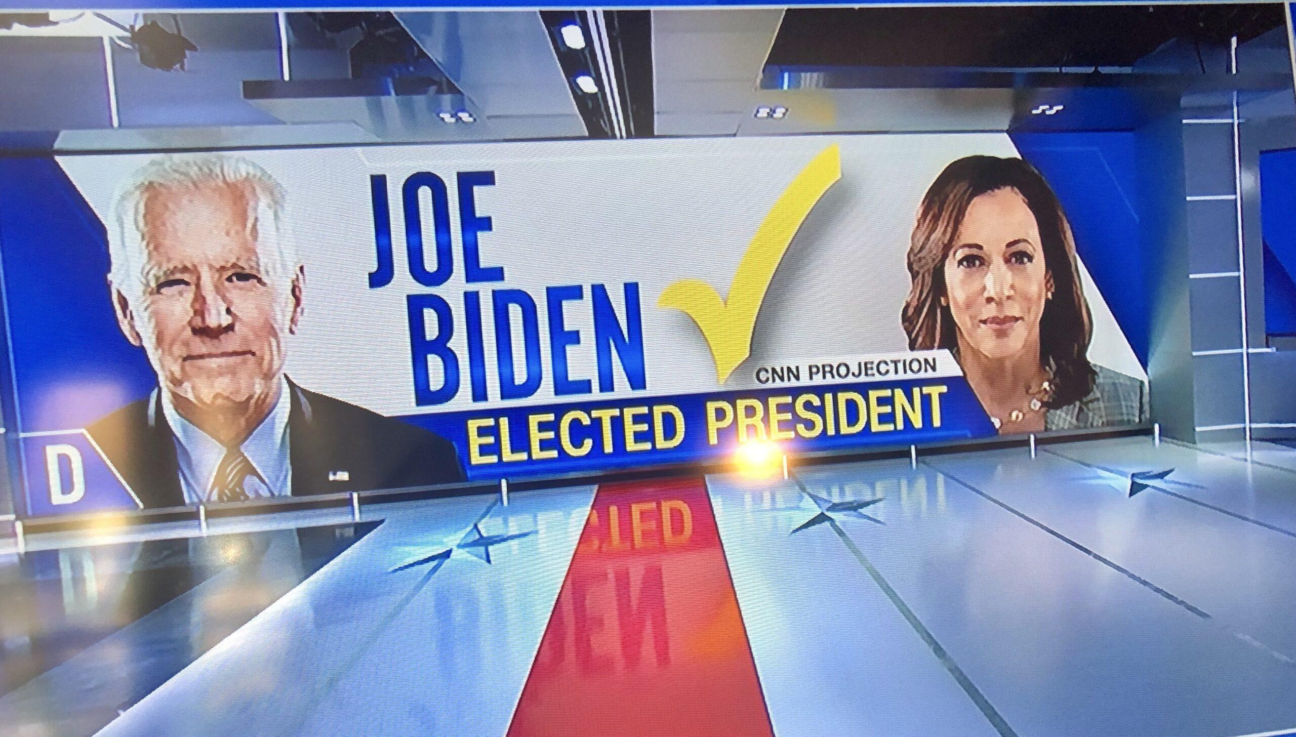 Joe Biden, Kamala Harris Win the White House