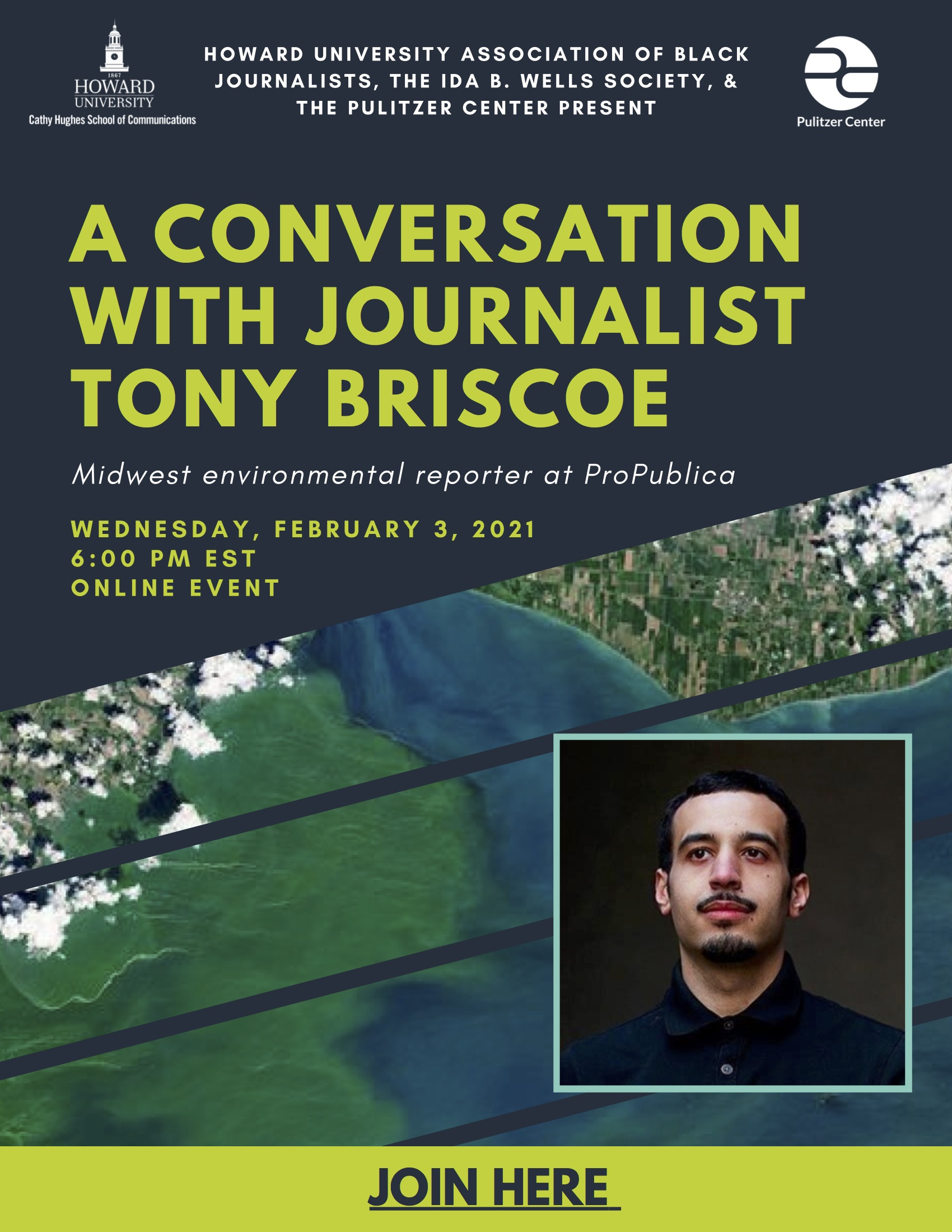A Conversation with Journalist Tony Briscoe