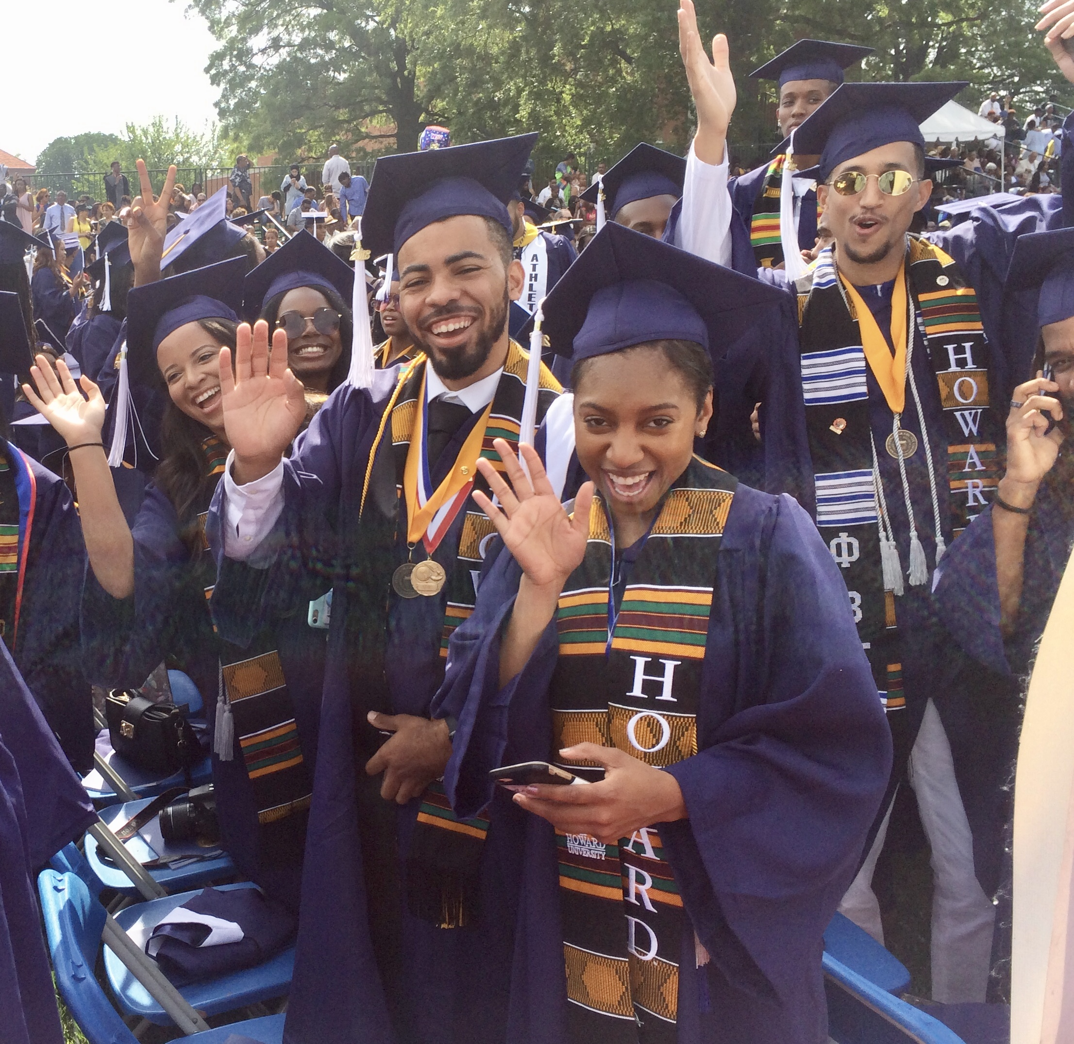 "Howard University Grads Will Take ""The Long Walk"" After All"